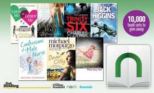 Get 7 free e books (first 10,000 people) when you download the nook app by 14 December with the evening standard