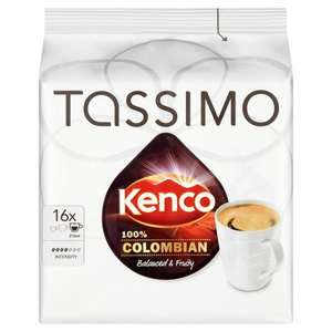 Various Tassimo Carte Noire/Kenco 5 x packs - £13.92 (£2.78/pack) @ Amazon (Subscribe & Save)