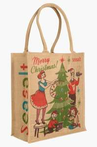 Seasalt Cornwall - Xmas stockings / jute bags / gift bags - From £3 (£4 delivery charge)