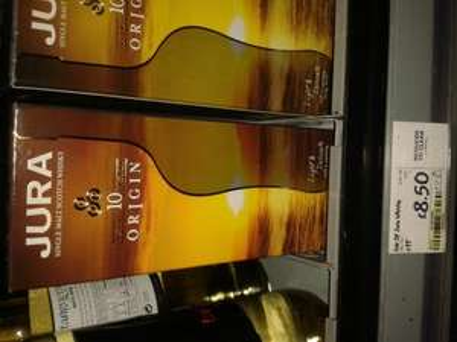 JURA Origin aged 10 years single malt whisky £8.50 @ Asda