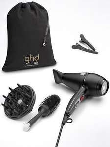 GHD Air Hair Drying Kit £115 at John Lewis/GHD down to £95 with Code GHD20 giving £20 Off some GHD straighners and hairdryers at Selfridges