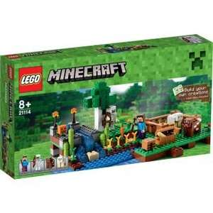 15% off all Lego Minecraft @ Argos Minecraft The Farm £21.24