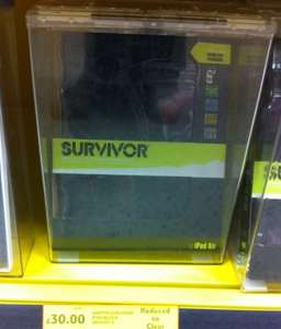 Griffin Survivor iPad case £30 reduced from £60 @ Tesco instore