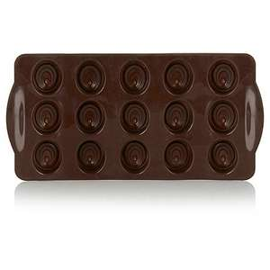 George Home Silicone Chocolate Moulds, £1 @ Asda, free C&C