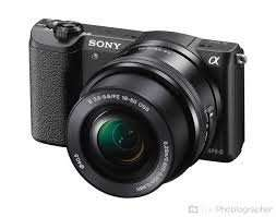 Sony Alpha A5100 24.3MP Interchangeable Lens Camera with 16-50 Lens - Black £299.99 @ Amazon