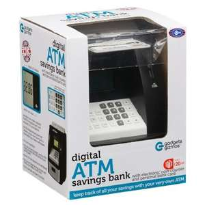 Digital ATM Money Box - £8.99 @ B&M