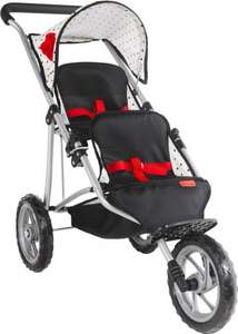 dolls' pushchair. Mamas and Papas Twin Pushchair with Double Decker Bunk Beds  £42.49 @ Argos