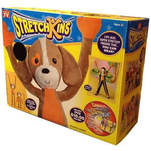 Stretchkins Unicorn and Dog in stock at lots of Smyths Toy Stores. Only £16.99