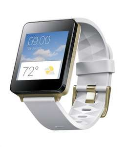 LG G Watch SMART WATCH - 4 GB - white gold £75 @ Asda direct