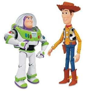 Toy Story Woody and Buzz Interactive Buddies Assortment - £38.24 @ Argos
