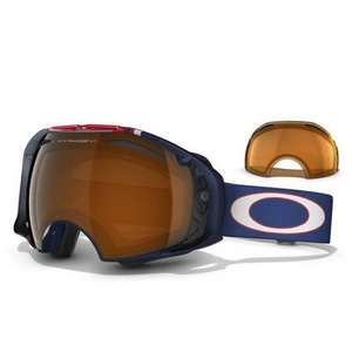 Oakley AIRBRAKE Ski Goggles Terje Haakonsen - Black Iridium & Persimmon lens £99 @ eyewear outlet