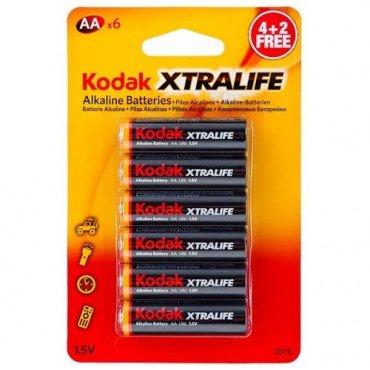 Kodak AA/AAA alkaline batteries 8 for £1 at Poundland