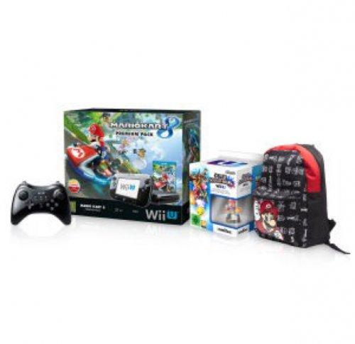 Wii U premium pack + Mario Kart 8 + Super Smash Bros + Mario Amiibo+ Backpack and pro controller £299.99 @ Nintendo Store