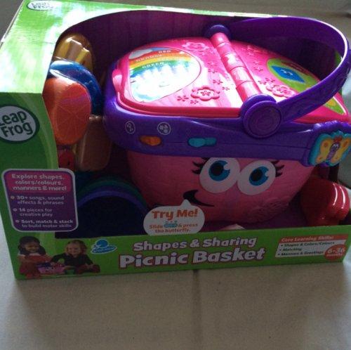 Leapfrog picnic basket £13.49 Instore or £2.99 del online @ Smyths toys