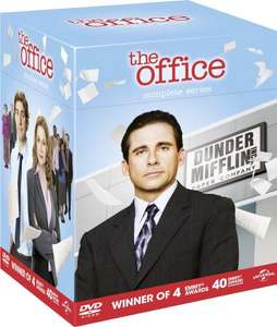 The Office Seasons 1-9 Complete DVD - Amazon - £29.99