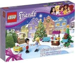 Lego Friends Calendar 401040 and 41016 - Waterstones instore for £9.99