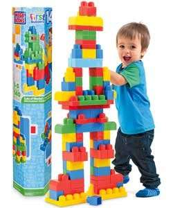 Mega Bloks 140 Piece Maxi Tube LESS THAN HALF PRICE Was £29.99 Now £12.74 @ Argos Reserve and Free collection