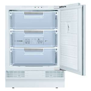 Integrated Bosch freezer GUD15A50GB £295 / £225 after bosch cashback at John Lewis