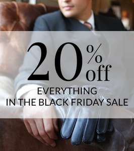 20% off everything at Dents in the Black Friday Sale