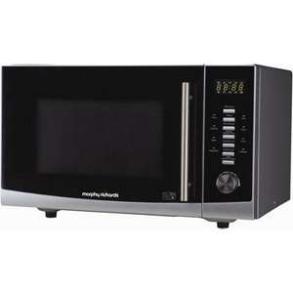Morphy Richards Silver Microwave - 25L (900watt) @ Homebase £49.99 was £119.99 Black Friday deal