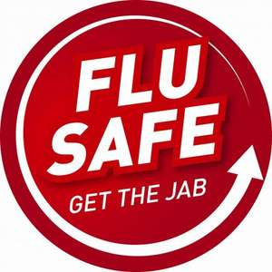 Flu jab £6.95 at Jaysons Pharmacy in Long Eaton (between Derby and Nottingham) and Wollaton (West Nottingham)