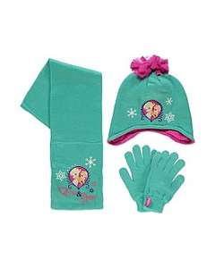 Frozen Hat Gloves and Scarf Set £8 @ Asda / George