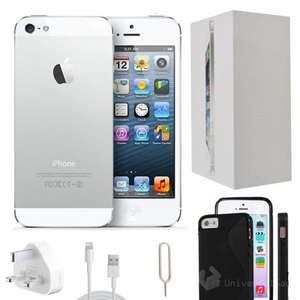 Apple iPhone 5 32GB White Unlocked - Refurbished Grade A + Accessories £239.99 @ ebay.co.uk / universalgadgets01