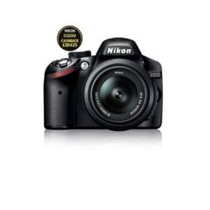 Nikon D3200 24MP DSLR Camera with 18-55mm Lens £199.99 @ Argos (£20 cashback from Nikon)