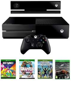 Xbox One + Kinect, Forza Motorsport 5, Kinect Sports Rivals, Just Dance 2015, Shape Up £389 @ Amazon (Lightning Deal)