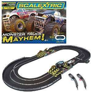 Scalextric 1:32 Scale Monster Truck Mayhem Race Set £49.99 @ Amazon