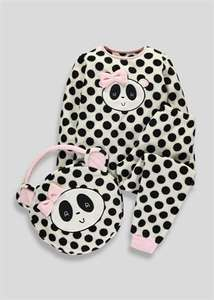 Girls 3 Piece Sleepover Sets. Bunny or Panda £6 each C&C @ Matalan
