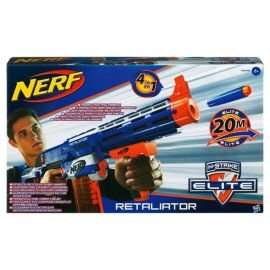 Nerf Gun N-Strike Elite Retaliator Blaster £16.00 @ Tesco Direct