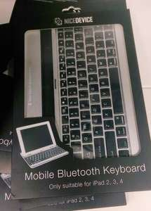 Mobile Bluetooth Keyboard for iPad 2,3 or 4 Instore £9.99 @ HomeBargains