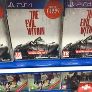 The evil within (PS4) £19.99 at Game Kingston