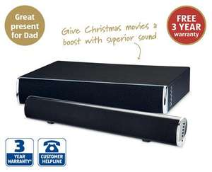 Bluetooth Soundbar/Soundbase £39.99 @ Aldi Sunday 30th Nov