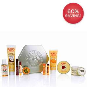 Burts Bees mega box worth £71 for £28.50 plus free delivery @ Burts Bees