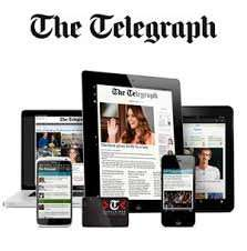 Telegraph year digital subscription £25 (norm £100)