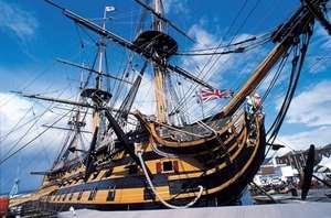 Annual Ticket for Entry to Portsmouth Historic Dockyard £25 @ Amazon Local