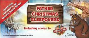 Father Christmas Sleepovers at Chessington World of Adventures Resort from £99 per family of 4! (Theme Park is closed)