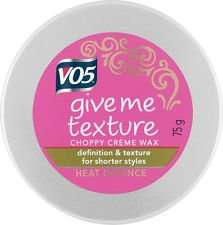 VO5 Give Me Texture Choppy Creme Wax or Fluff Tamer 75g £1 @ Poundworld