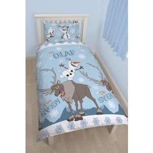 Argos Disney Frozen Olaf Duvet 20% off £15.99 plus 1/2 price back pack, 3 for 2, and voucher deal