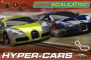 Amazon Micro Scalextric 1:64 Scale Hyper Cars Race Set £19.99 free p&p was £34.99