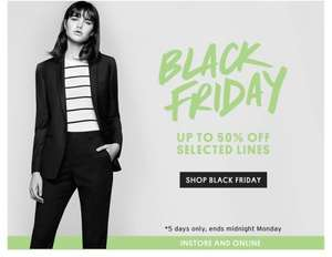 Top Shop Black Friday NOW LIVE - Up to 50% off and FREE DELIVERY