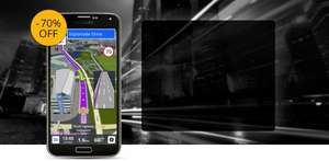 Sygic GPS / Navi - Black Friday - Cyber Monday Sale  -70% off Navigation & -50% off Head-up Display