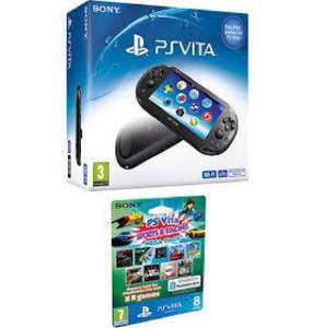 PS VITA SLIM+FREE 8Gb Mega Pack @ very £119 (RRP £185)