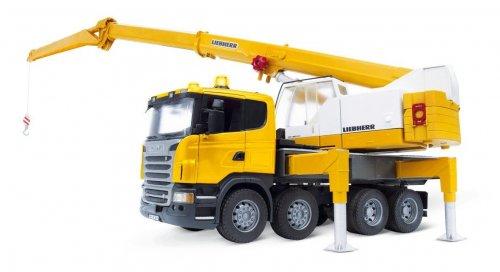 Bruder 3570 Scania R-Series Liebherr Crane Truck £53.99 @ Amazon