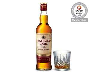 ALDI 70cl Highland Earl Blended Scotch Whisky £10.49 down from £11.79