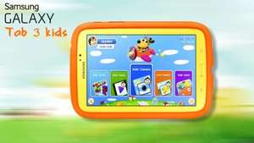 Samsung Galaxy Tab 3 Kids Dual Core Processor, 1Gb RAM, 8Gb Storage, Wi-Fi, 7 inch Tablet - Yellow £59 @ Very