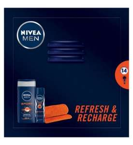 Nivea Men Refresh and Recharge Pack £4.87 @ Boots