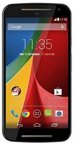 Motorola Moto G 5-Inch (2nd Gen UK Stock) Dual Sim 8GB SIM-Free Smartphone XT1068 £139.95 from Amazon